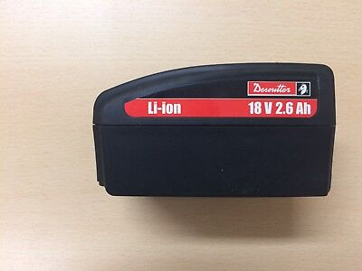 Desoutter 18V 2.6Ah Battery Li-Ion 6153972990