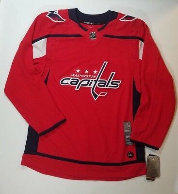 643155b478e Washington Capitals Size 46 Adidas Authentic NHL Climalite Home Red Jersey  Men s