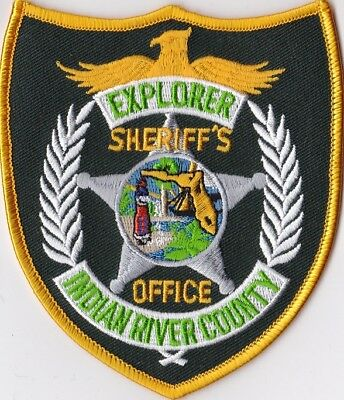 Indian River County Sheriff's Office EXPLORER  Police patch Florida FL