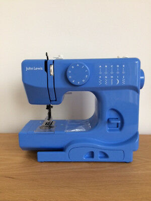 John Lewis Cornflower Blue Jl Mini Sewing Machine