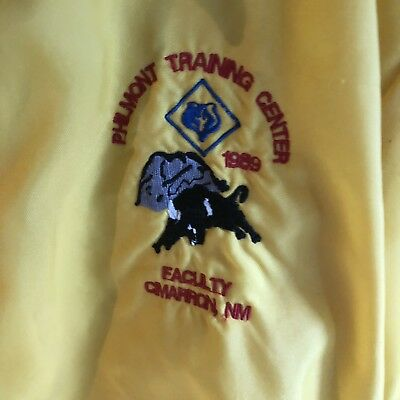 Vintage Boy Scout 1989 Yellow Windbreaker