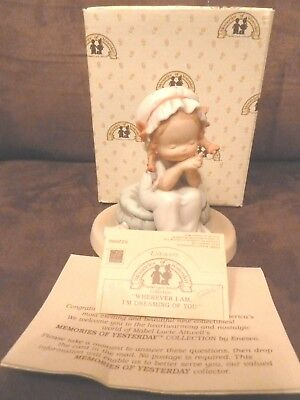 Enesco Memories of Yesterday Wherever I Am I'm Thinking of You 522686