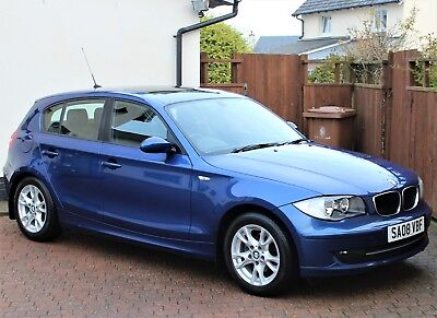 BMW 118i SE 5 DOOR, AUTOMATIC, MONTEGO METALLIC, HIGHLY SPECIFIED, STUNNING CAR