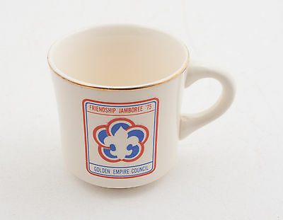 Friendship Jamboree 1975 Boy Scouts of America BSA Coffee Cup Mug (D5R-23)