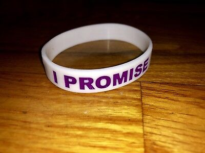 8d816df8dd7 ... lebron james los angeles lakers i promise silicone rubber wristband  bracelet ...