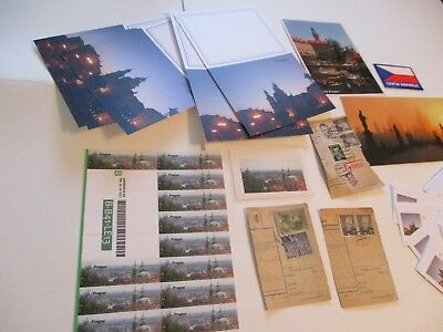 Prague Czech Republic 54 Items Magnet Patch Stamps Stickers Stationery Card #1