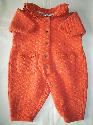 H&M BABY BABY Orange  Baby Grow / All in one Size 62 cm / 3 - 6 months
