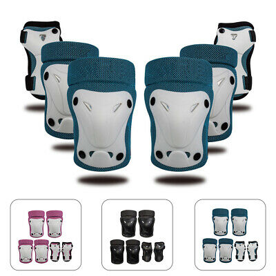 6X Skating Protective Gear Sets Elbow Knee Pads Bike Cycling Skateboard for Kids