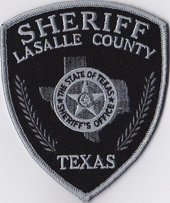 Lasalle County Sheriff subd. Police Patch Texas TX