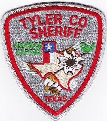 Tyler County Sheriff  Police Patch Texas TX