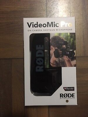 Rode VideoMic Pro On-Camera Condenser Microphone - Brand New in Box