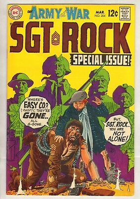 Our Army At War #204 (VF/NM) (1969, DC) Kubert Sgt. Rock!
