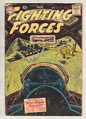Our Fighting Forces #23 (VG) (1957, DC)