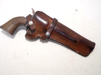 """21-07 S&W Factory Brand Gun Holster for COLT SAA ARMY .45 7.5"""" & RUGER Blackhawk"""