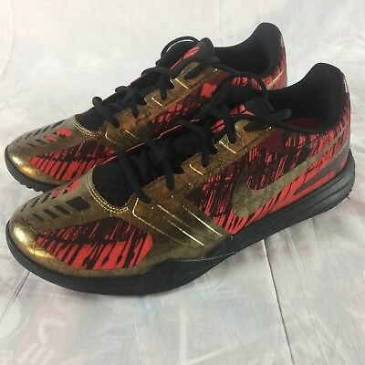 reputable site f4b31 debfa Nike Kobe Mentality Men s Size 10.5  Iron Man  Chinese New Year Gold Shoes  NEW