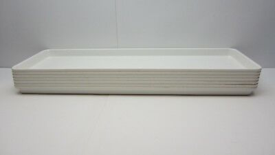 7 MFG Toteline Molded Fiberglass Tray Co. 333001 White Assembly Display Conveyor