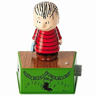 Hallmark 2017 Peanuts LINUS Christmas Dance Party Figurine With Music and Motion