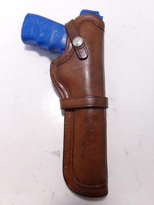 """Vintage FACTORY BROWNING Logo Gun Holster Challenger & Nomad 6.75"""" 22 Auto"""