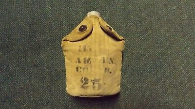 WW1 U.S. Army Canteen, Cup & Cover