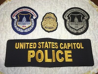 United States Capitol Police Patch Set