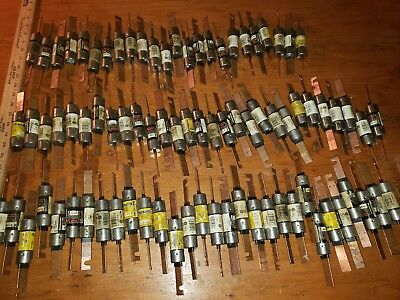 100 amp 600 V Fuse  Tested Pulled From Working Unit! Frs-r-100 fusetron bussman