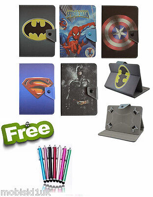 """Common Kids Leather Stand Case Cover For Huawei Mediapad T3 7.0 (7""""inch) tablet"""