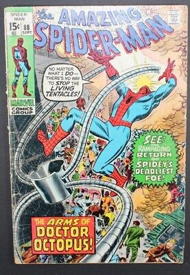 The Amazing Spider-Man # 88 Marvel Comics 1970 Silver Age Doc Ock
