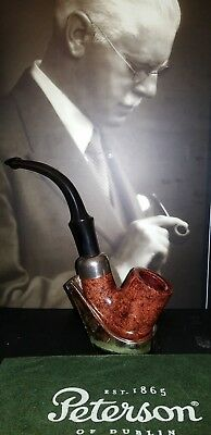 Peterson system Standard 309 unsmoked estate tobacco pipe with bag