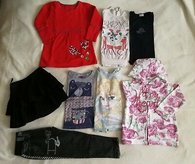 Girls Clothes Bundle Age 5-6 Zara H&M ect