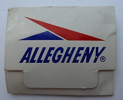 Collectible ALLEGHENY AIRLINES GOLF TEES for NEW DC-9 Fan Jets