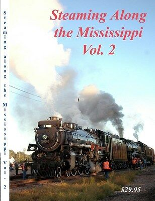 Steaming Along The Mississippi Milw 261 Vol 2 Railroad Train DVD Please Read
