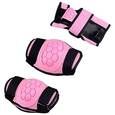 (Pink, Medium) - Boys Girls Childs Roller Skating Skateboard BMX Scooter