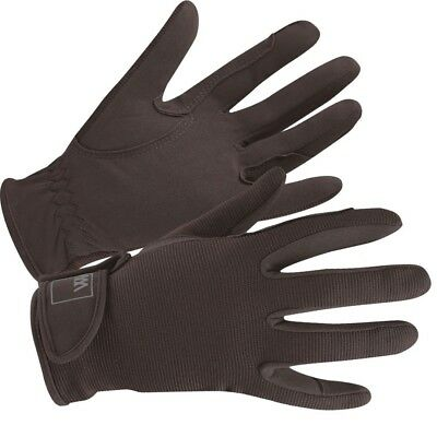 (Size 9.5, Brown) - Woof Wear Grand Prix Riding Glove. Shipping is Free
