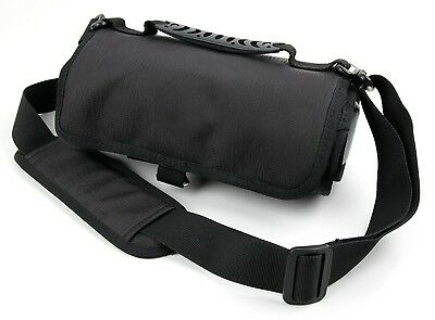 Action Camera + Accessory Carry Case with Shoulder/Waist Strap and Hanging