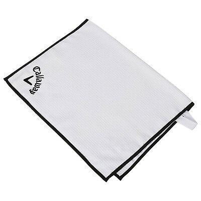 (White) - Callaway Golf Players Towel. Shipping Included