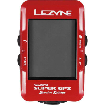 Lezyne Enhanced Super GPS Cycling Computer. Brand New