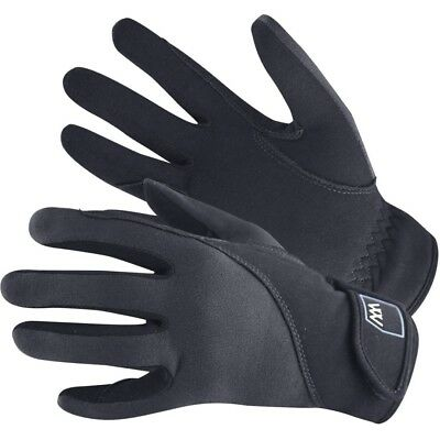 (Size 7.5, Black) - Woof Wear Precision Riding Glove. Delivery is Free