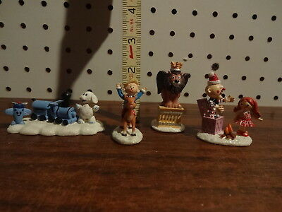 Hawthorne Village Rudolph's Christmas Town Misfit Toys Figures 3 Day Auction