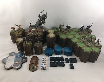 Heroscape Rise Of The Valkyrie Master Set Board Game FOR PARTS - Incomplete