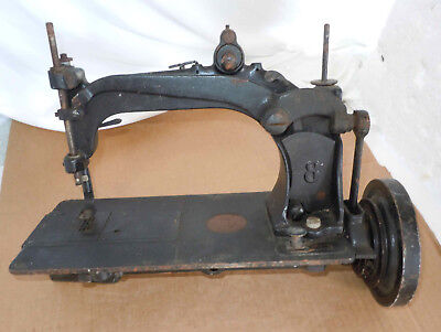 Early Wheeler & Wilson Sewing Machine No. 8 Turns Freely