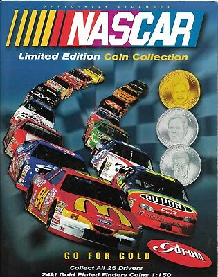 3 X Almost Complete 1997 Nascar Greats Coin Sets