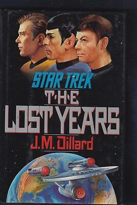STAR TREK: The Lost Years by J. M. Dillard (1989, Hardcover)