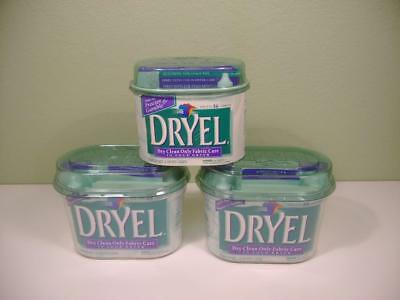 Dryel At Home Dry Cleaning New Starter Kit  Lot of 3 Kits 26 Loads Fabric Care
