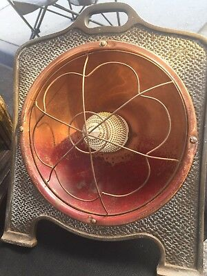 Antique Vintage Art Nouveau Heater