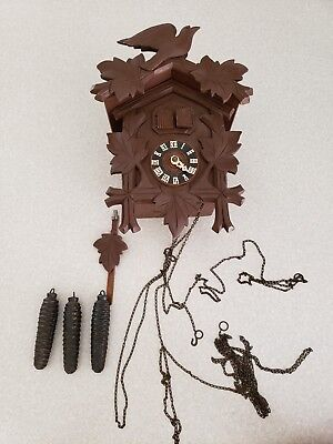 German made  musical 1 Day Cuckoo Clock CK2045. Please read....