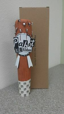 Pabst Blue Ribbon Art Beer Tap Handle - New/In Box! PBR Bat w/ Nails - FREE S/H