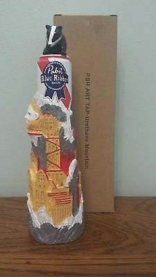 Pabst Art Beer Tap Handle - PBR Badger Mountain - Brand New In Box Knob FREE S/H