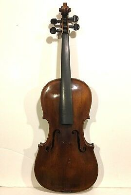 ANTIQUE VIOLIN labeled Carlo Bergonzi