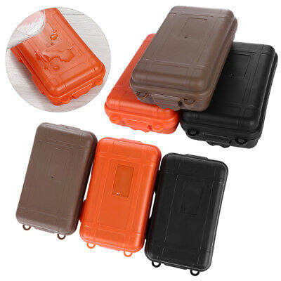 EDC Outdoor Survival Case Waterproof Sealed Box Survival Travel Camping Tool