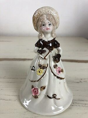 UCCG Vintage Woman Bell Flowers Decorative Very Nice